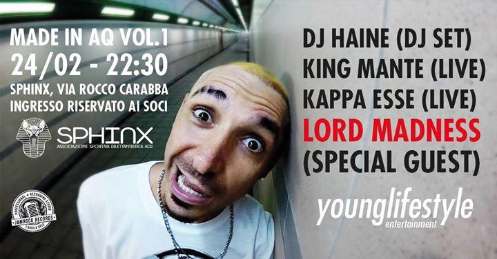 MADE IN AQ VOL.1: DJ Haine, King Mante, Kappa Esse, Lord Madness